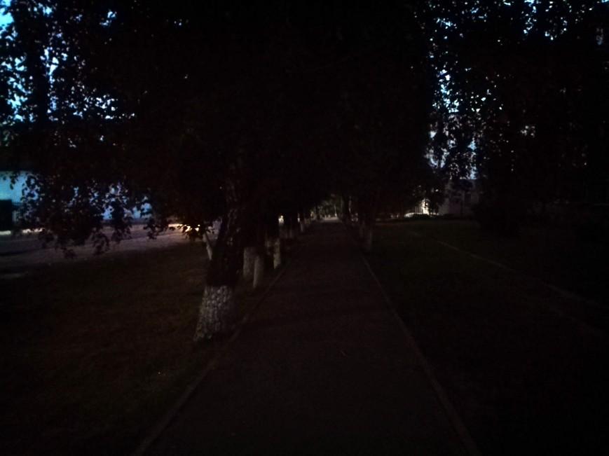 Рис. 17. Фото в темное время суток