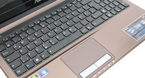 Рис.10 – клавиатура и тачпад