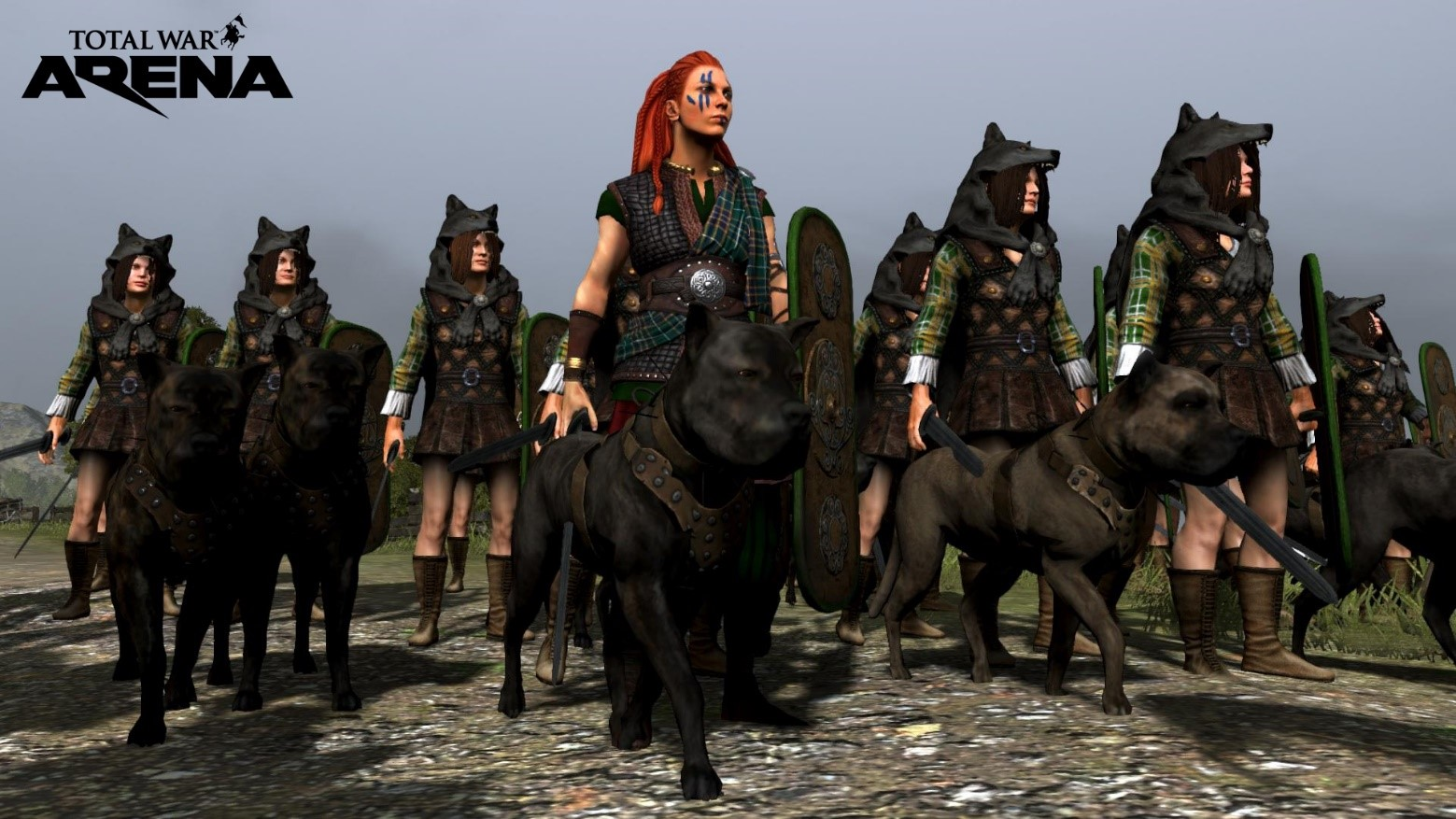 Рис. 13– Отважная и безумная Боудика и её воины