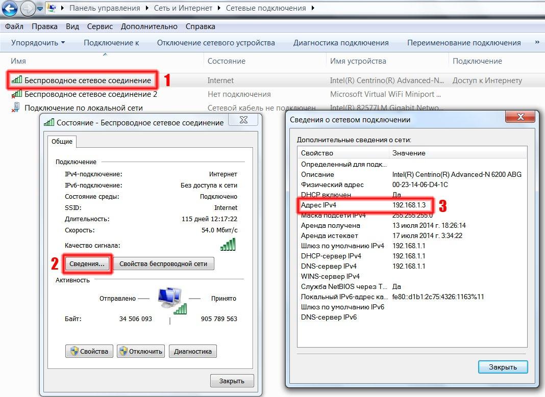 Рис. 2. Процедура получения IP-адреса