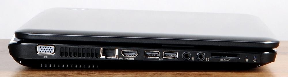 Рис. 5. Ноутбук слева