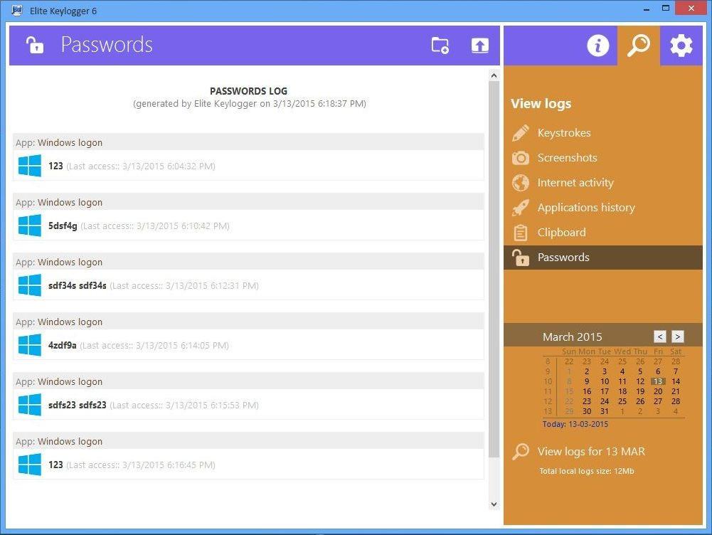 Рис. 8 – Получение паролей от учётных записей