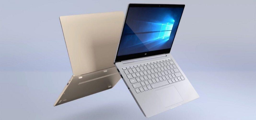 Рис. 9. Удобный и недорогой ноутбук от Xiaomi.