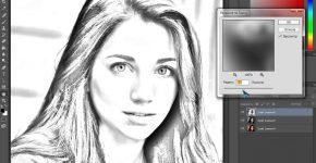 Как из фото сделать рисунок