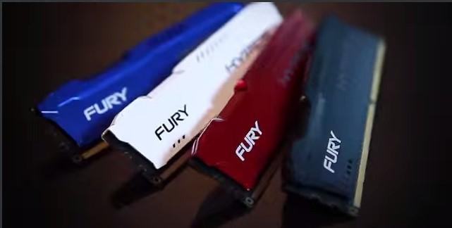 Рис. 2 – Несколько вариаций внешнего вида планок памяти HyperX FURY от Kingston