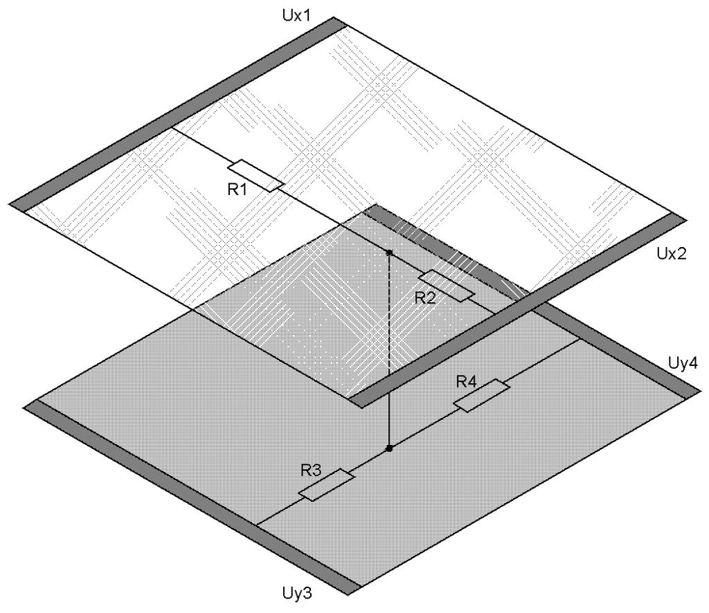 Рис. 2 – Схема четырехпроводного интеллектуального экрана