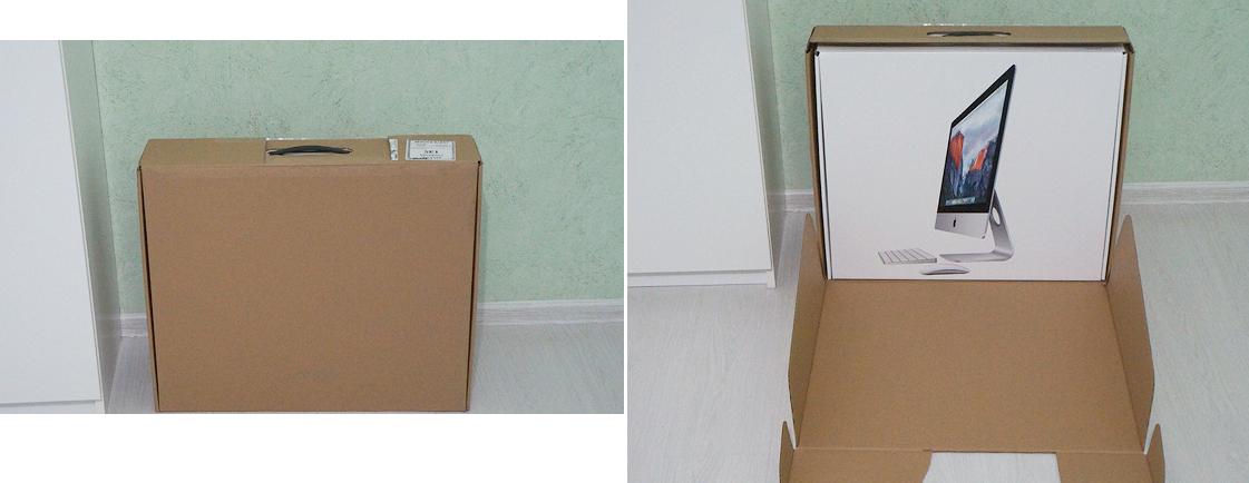 Рис. 5. Картонная и основная коробка