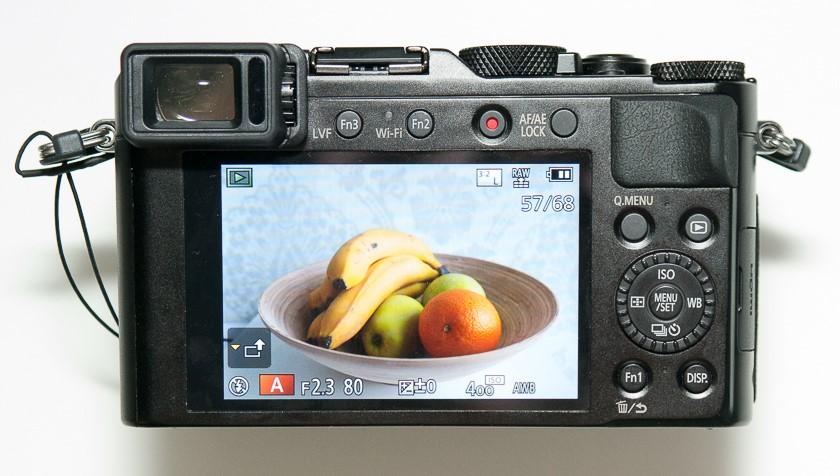 Рис. 8 Экран фотоаппарата