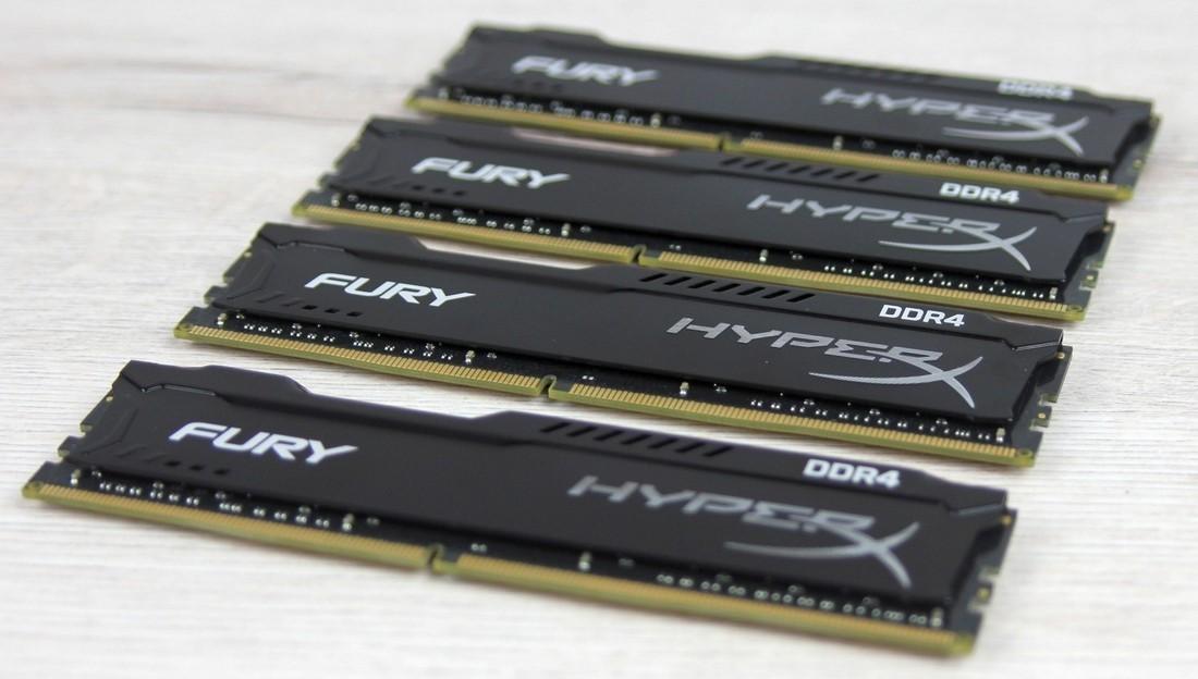 Рис. 8 – Внешний вид планок памяти HX424C15FBK4/32