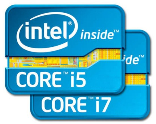 Рис. 9. Intel Core i5 и i7