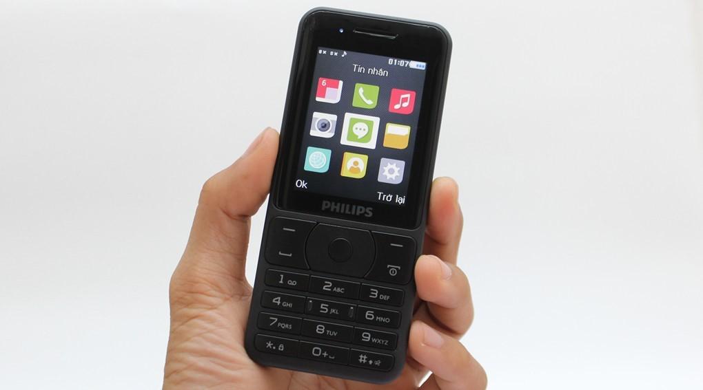 Рис. 1. Телефон Филипс Ксениум Е181.
