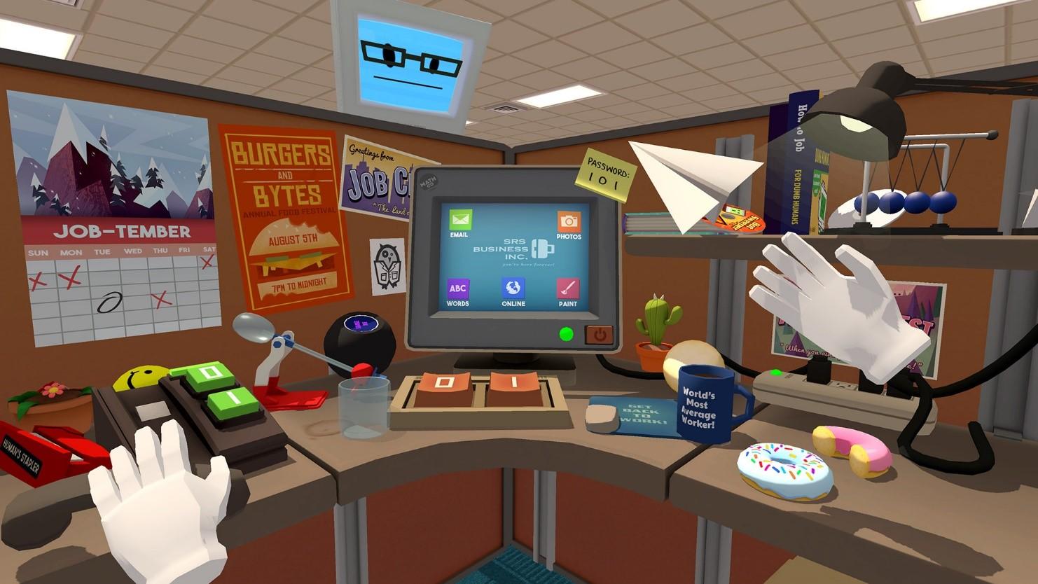 Рис. 12. Скриншот из Job Simulator