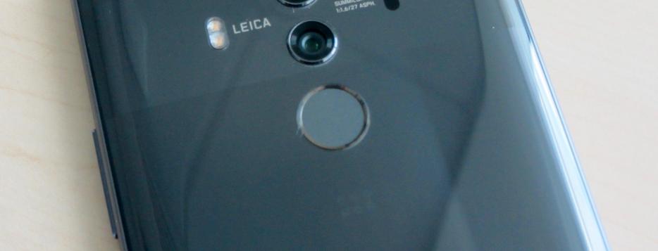 Рис. 17. Дактилоскопический сканер смартфона.