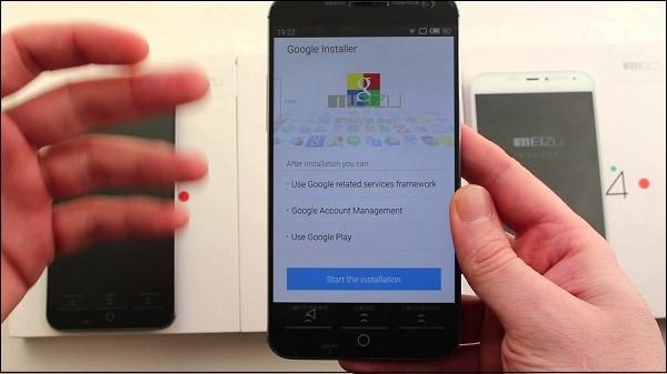 Рис.4 – установка Google Apps Installer