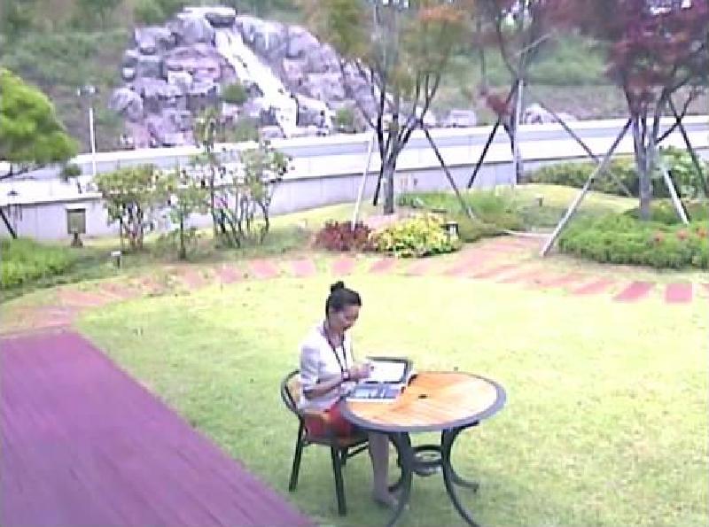 Рис. 7. Пример изображения, снятого камерой VGA.