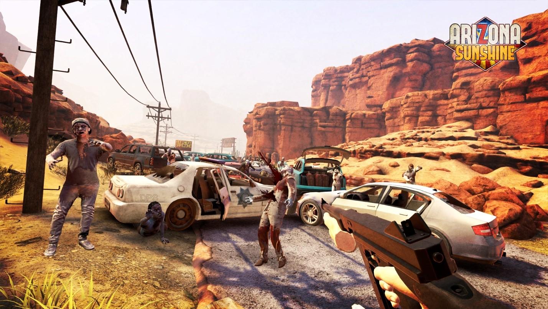 Рис. 8. Скриншот из Arizona Sunshine