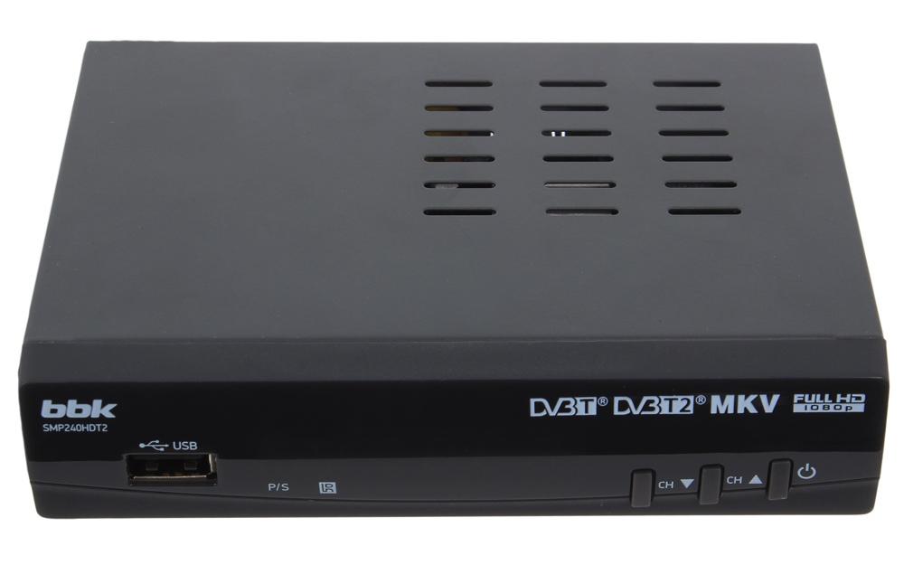 Рис. 8. BBK SMP240HDT2 – недорогой прибор с поддержкой всех популярных форматов.