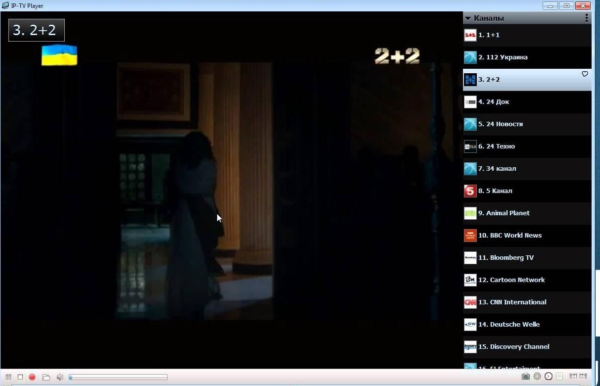 Рис.9 – воспроизведение телеканала