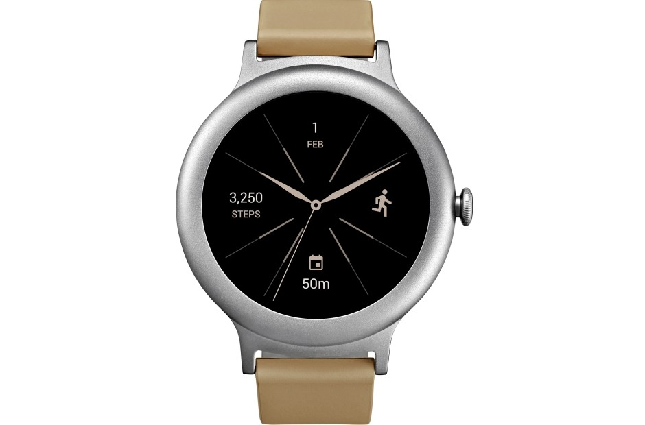 Рис. 1. Часы LG Watch Style W270.
