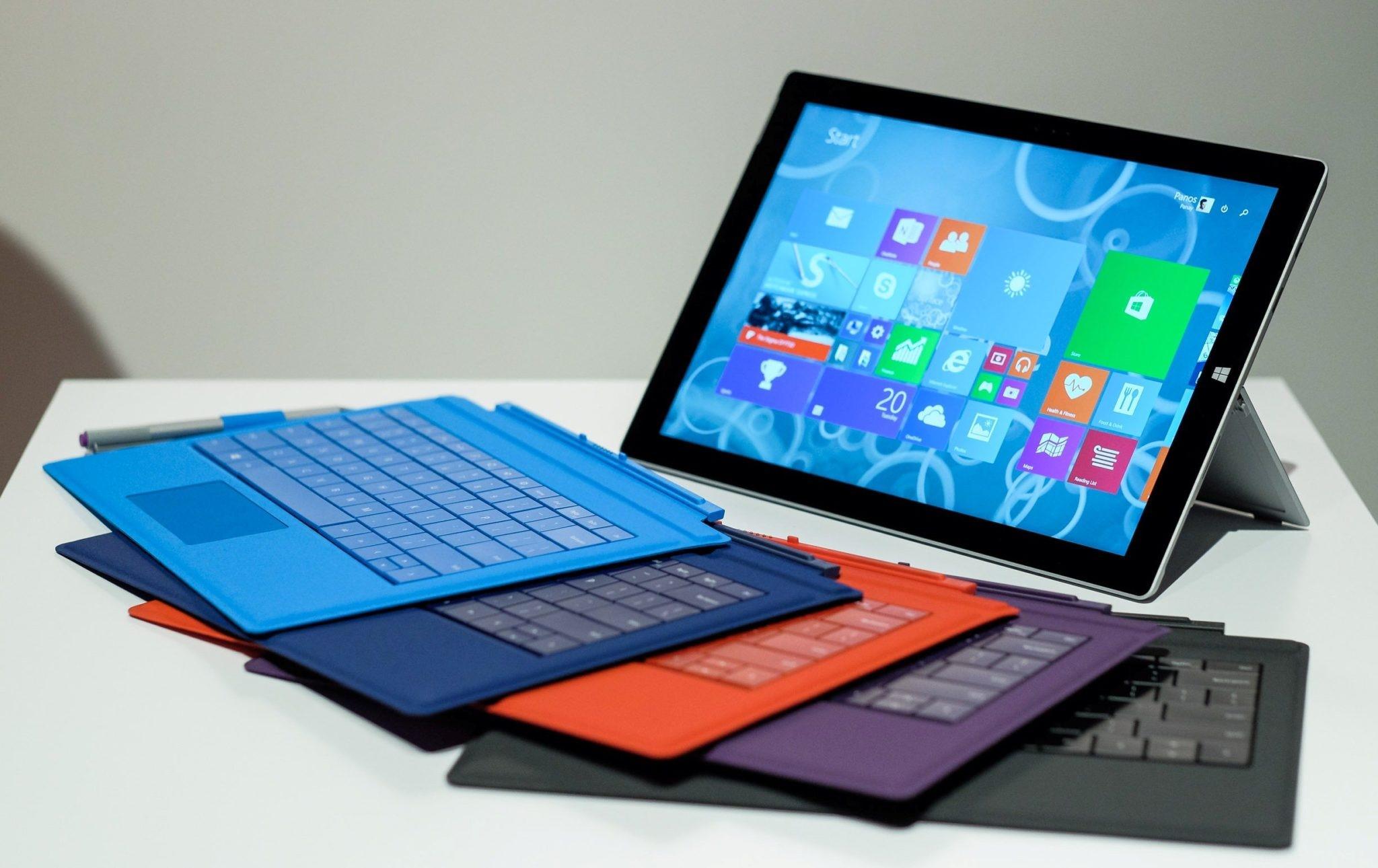 Рис. 1. Пятое поколение Surface Pro от Microsoft.