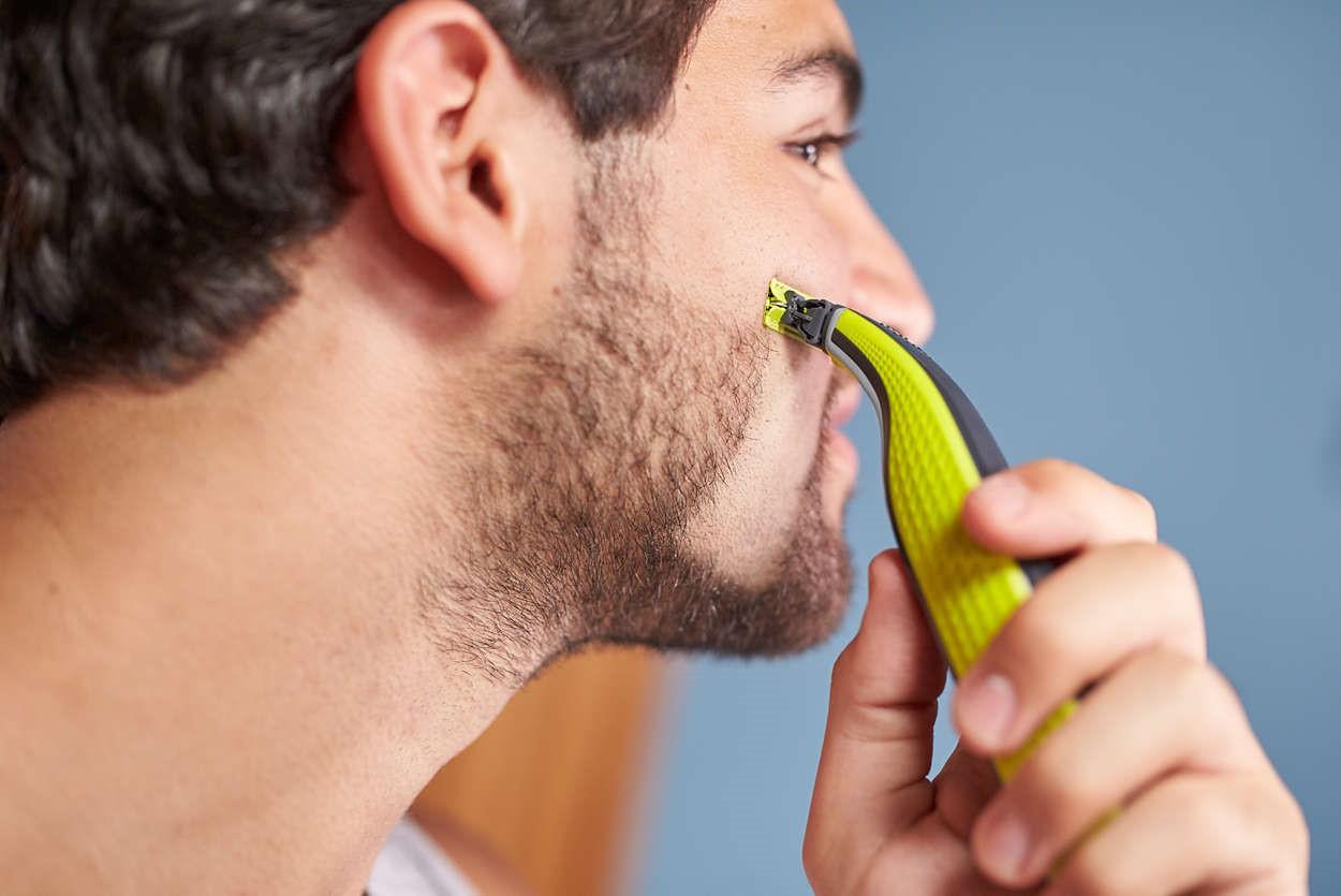 Рис. 1 Результат после бритья
