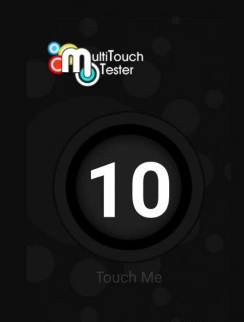 Рис.13 Multi-Touch на десять касаний.