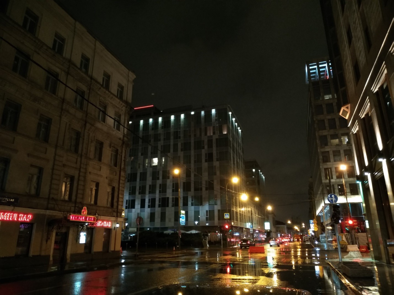 Рис.17 В ночное время