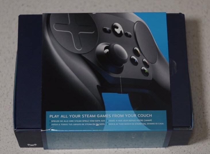Рис.17 Упаковка игрового контроллера.