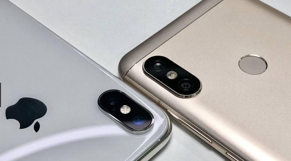 Рис.2 Сравнение смартфонов.