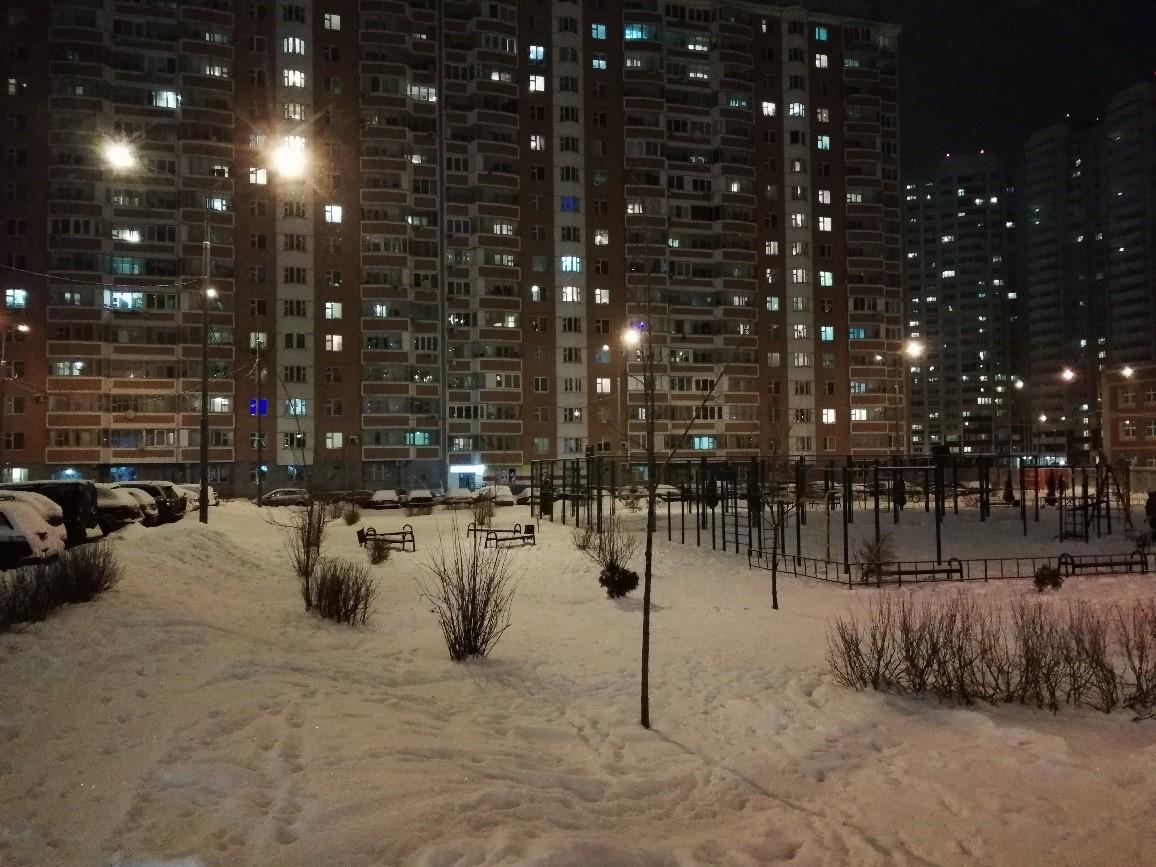 Рис.20 Ночное фотографирование.