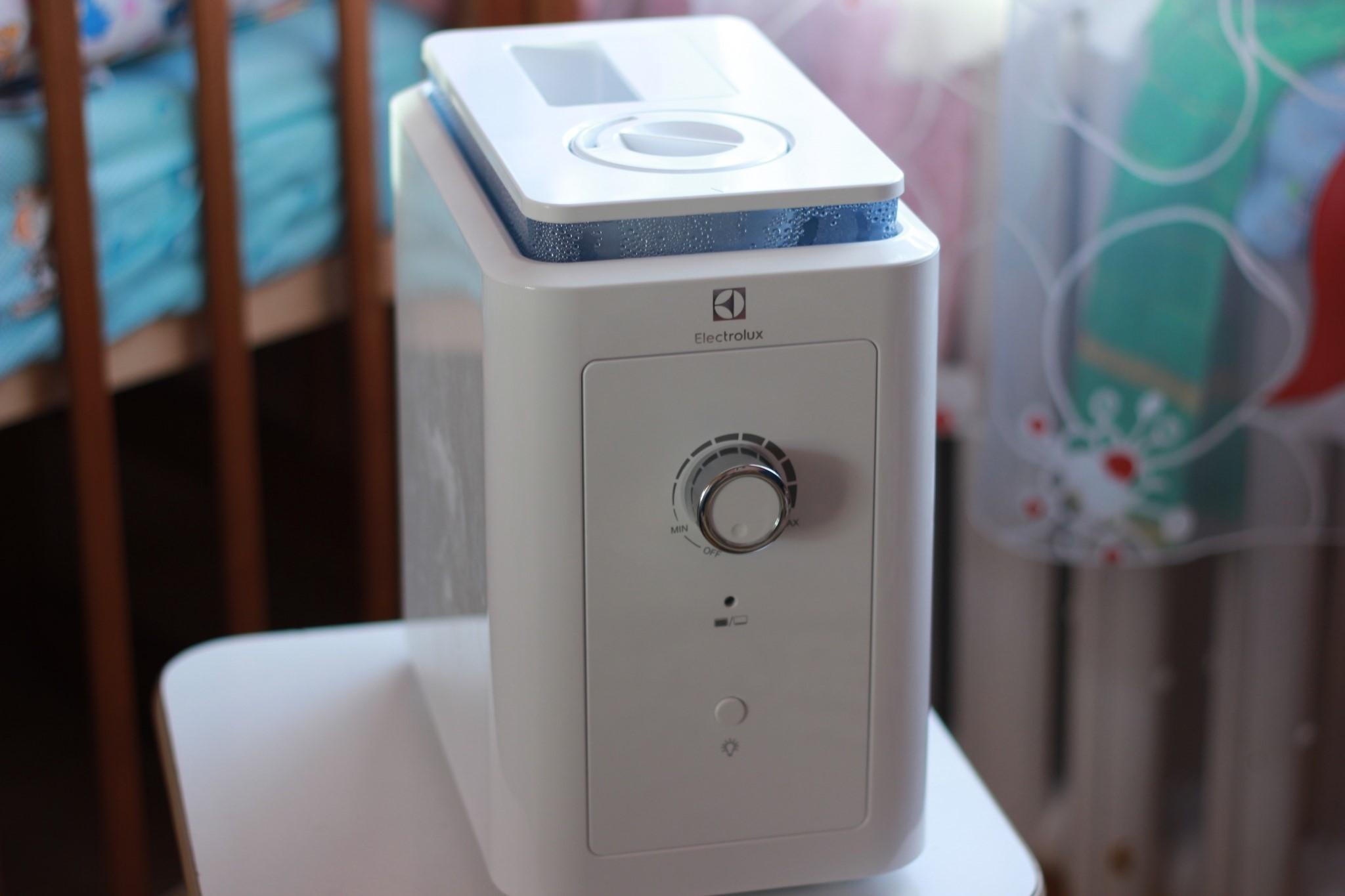 Рис. 5. Небольшая, но всё равно функциональная модель Electrolux EHU-1010.
