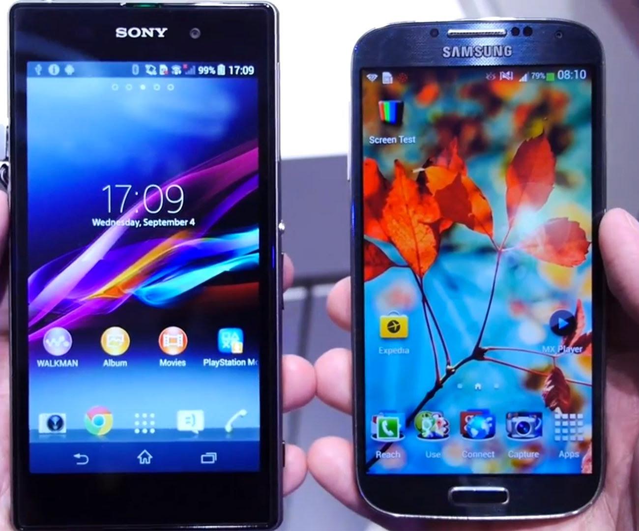 Рис. 5. Сравнение с Samsung Galaxy S4