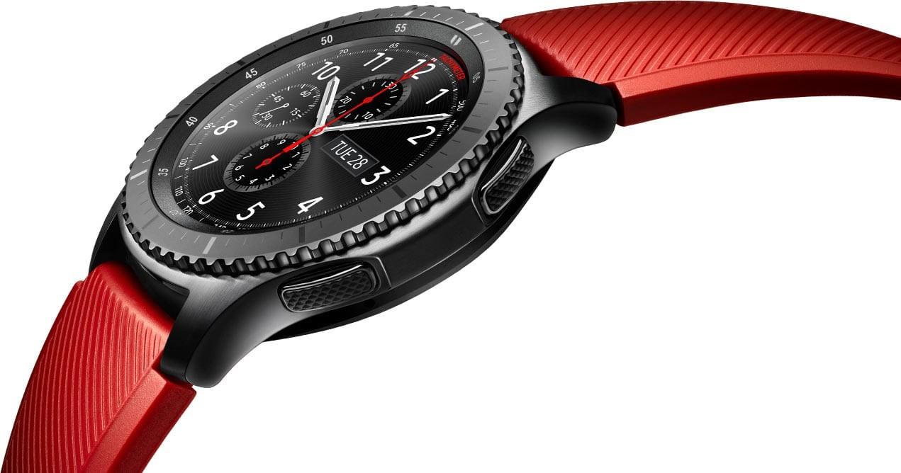Рис. 5. Смарт-часы Samsung Gear S3.