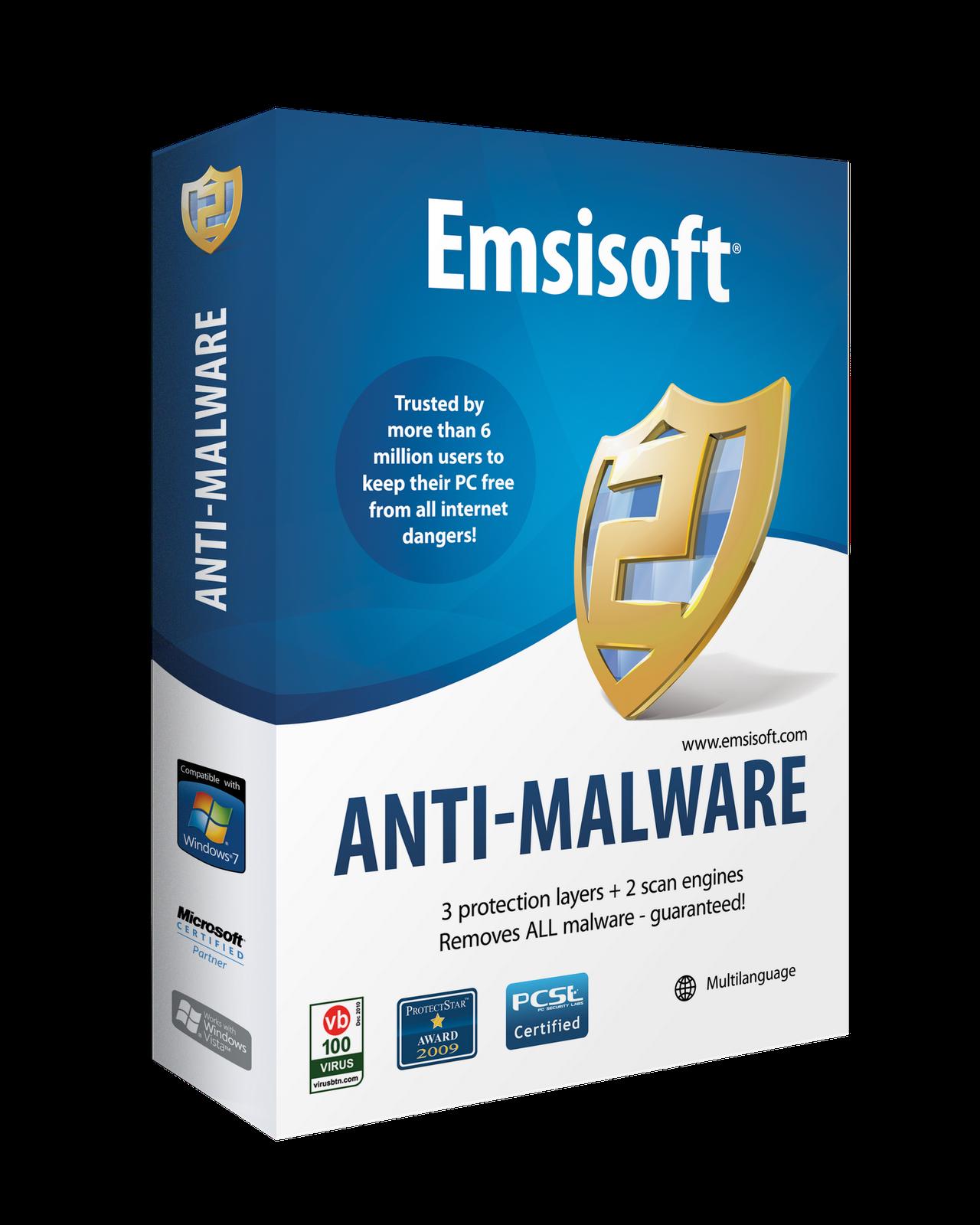 Рис.6 Программа Emsisoft Anti-Malware.