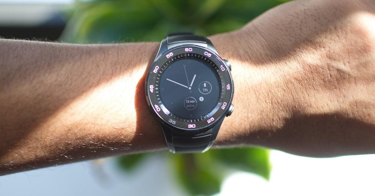 Рис. 7. Спортивные смарт-часы Huawei Watch 2 Sport.
