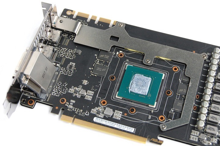 Рис. 8 – Отдельная пластина над чипами памяти