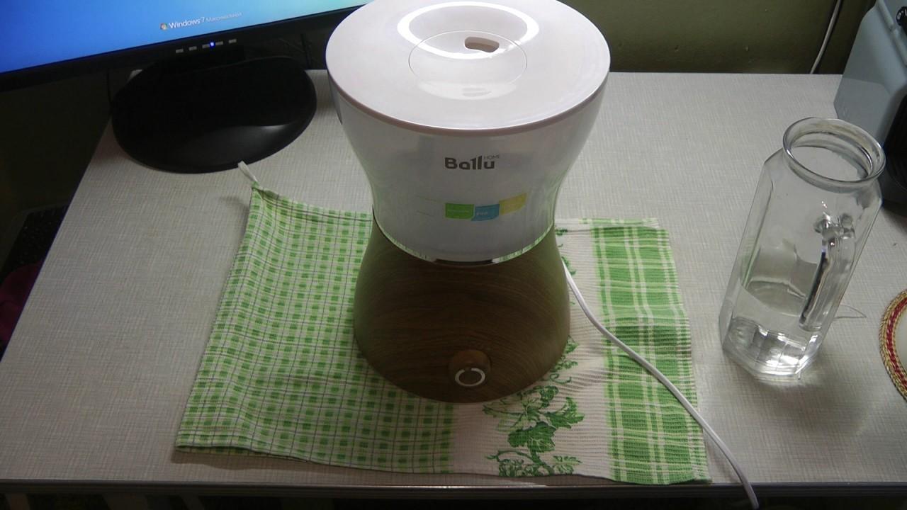 Рис. 8. Увлажнитель, похожий на ночник и соковыжималку, Ballu UHB-400.