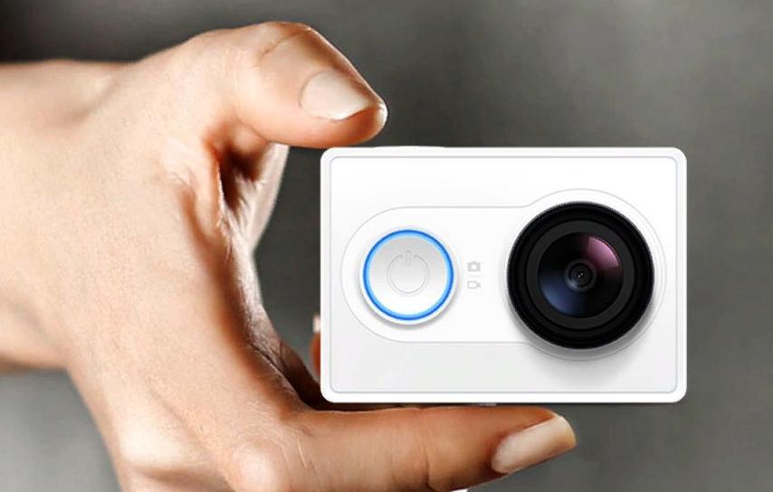 Рис. 8. Камера Yi Action – бюджетный, но всё равно функциональный вариант от Xiaomi.