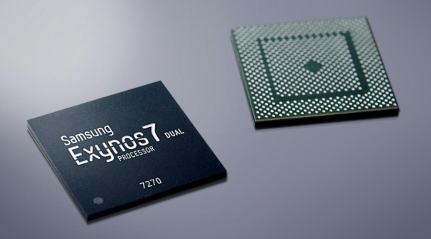 Рис.9 Внешний вид процессора Exynos седьмой серии.