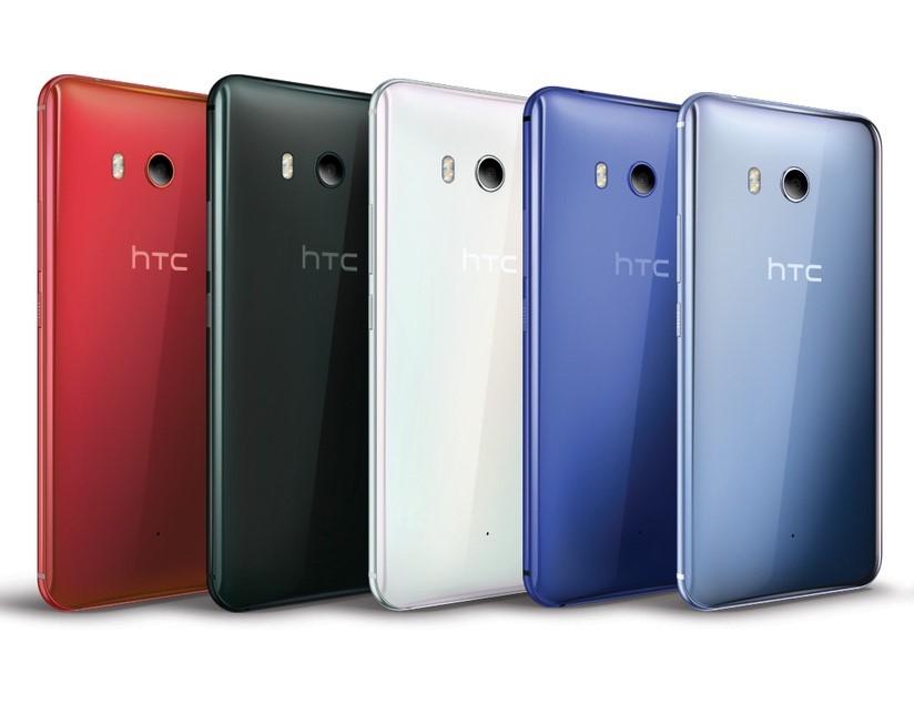 Рис. 9. HTC U11 – стильный смартфон с отличной камерой для селфи и средней основной.
