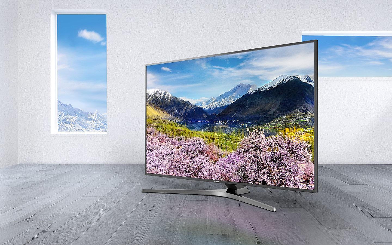 Рис. 1. Смарт телевизор Samsung UE49MU6500U – самый выгодный из лучших вариантов.