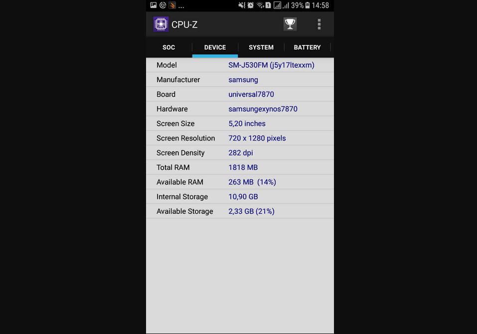 Рис. 10. Характеристики памяти в приложении CPU-Z.