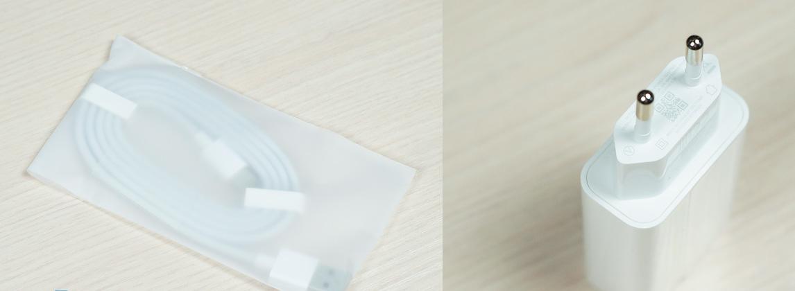 Рис. 2. Зарядное устройство – провод и адаптер