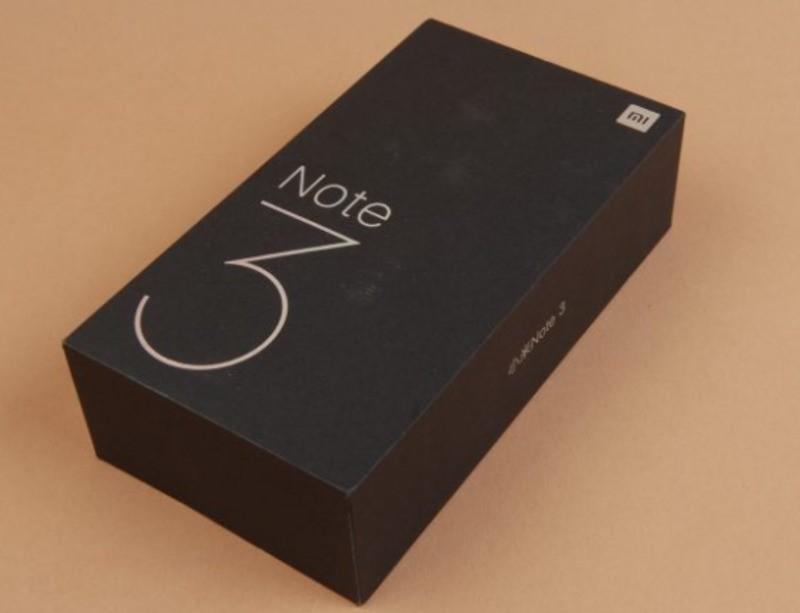Рис.3 Упаковка Xiaomi Mi Note 3.