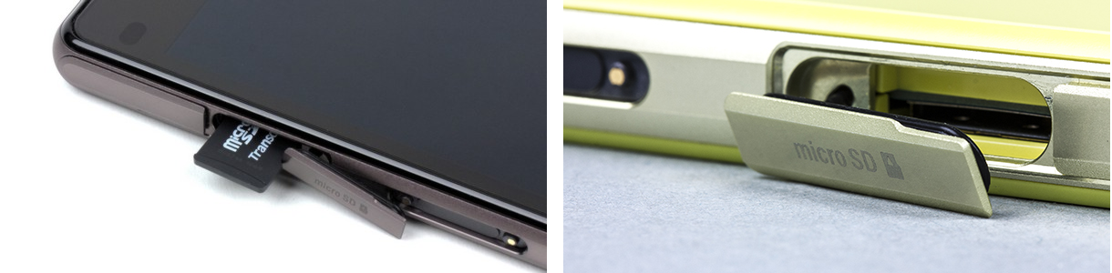 Рис. 4. Разъем для карты microSD под заглушкой