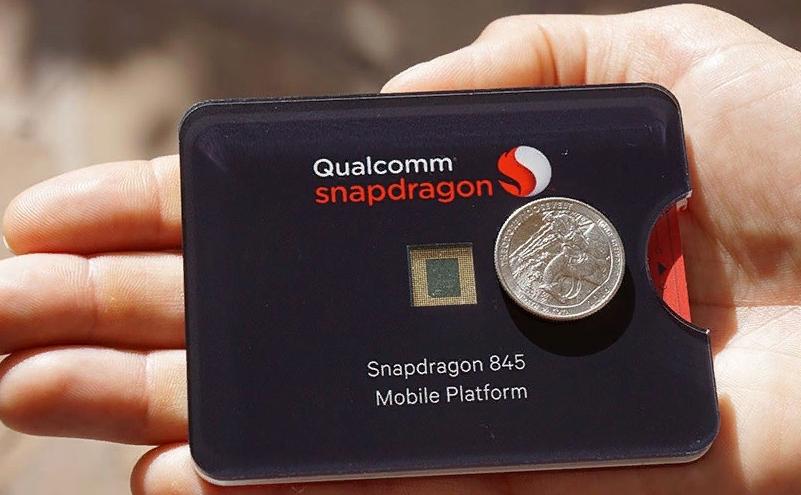 Рис. 4. Процессор Смартдрагон 845 – самый мощный мобильный чип для Android.