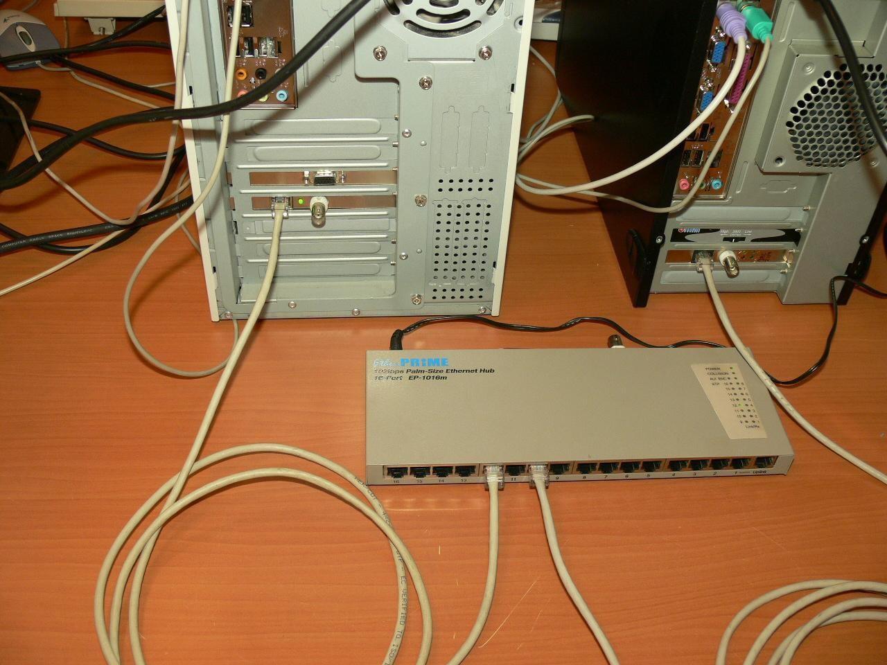 Рис.4: Пример правильного подключения к компьютеру.