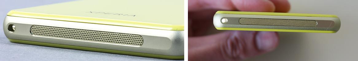 Рис. 5. Динамик на нижней части устройства
