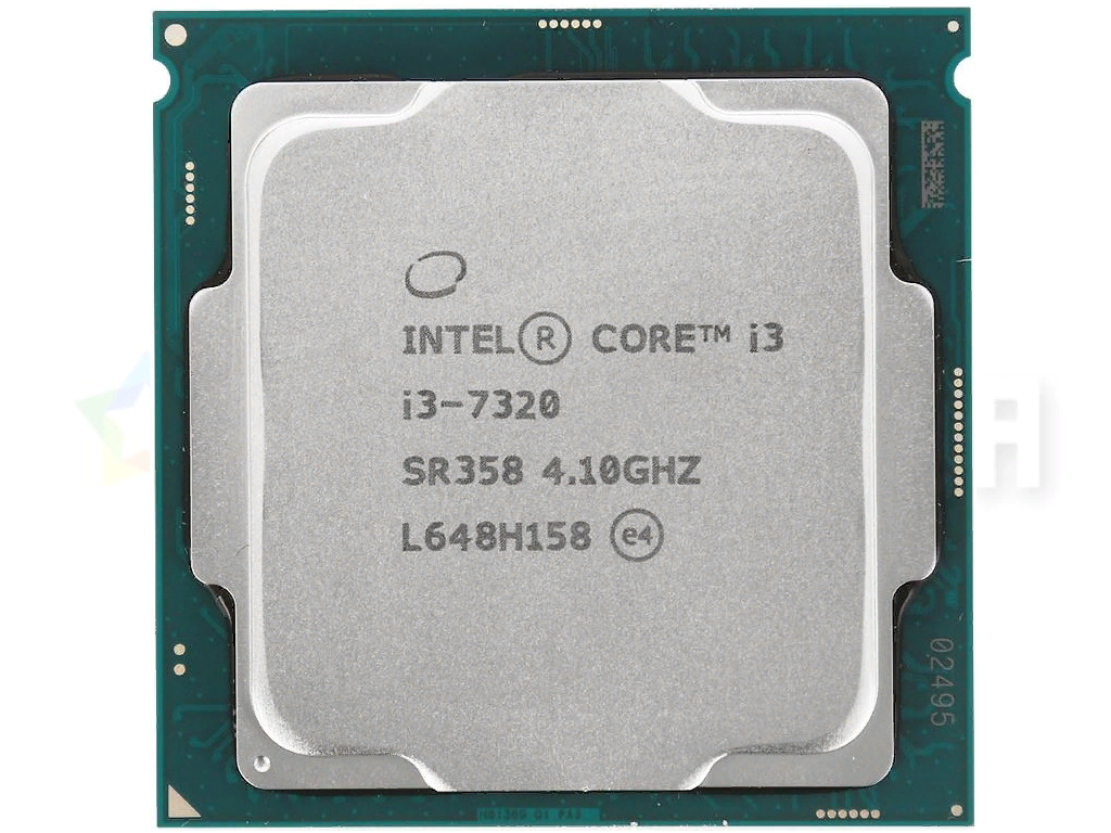 Рис. 5. Процессор i3-7320.