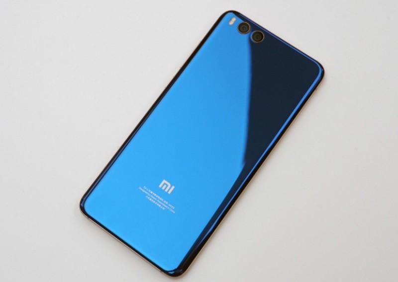 Рис.6 Задняя сторона Xiaomi Mi Note 3.